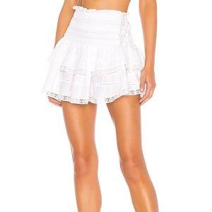 Love shack fancy Mira Skirt